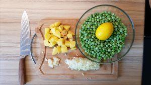 príprava hráškovej polievky