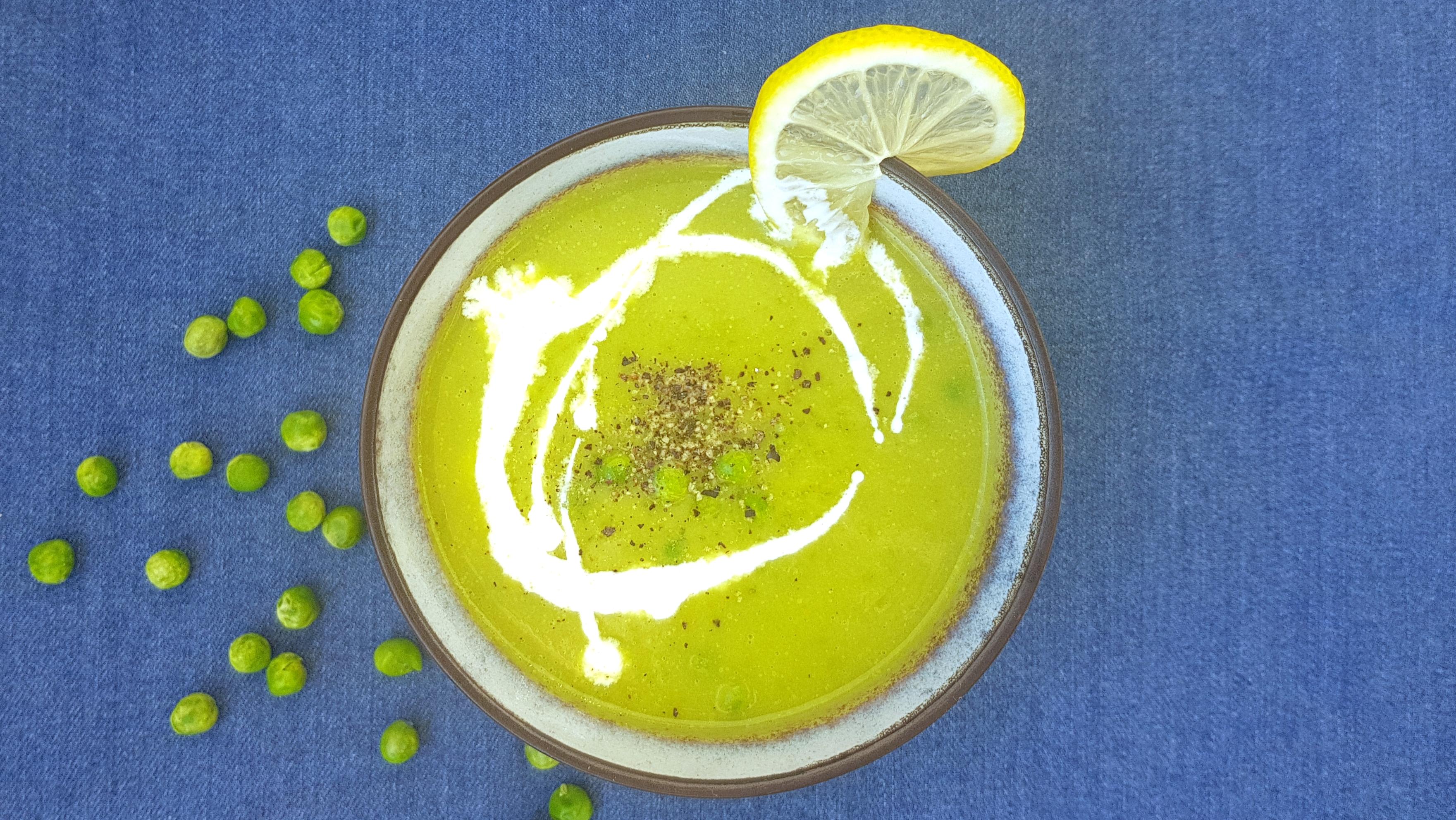 Hrášková krémová polievka