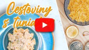 Cestoviny s tuniakom k paradajkovej polievke video recept youtube